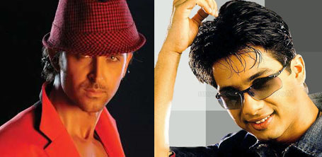 Hrithik Roshan and  Shahid Kapoor